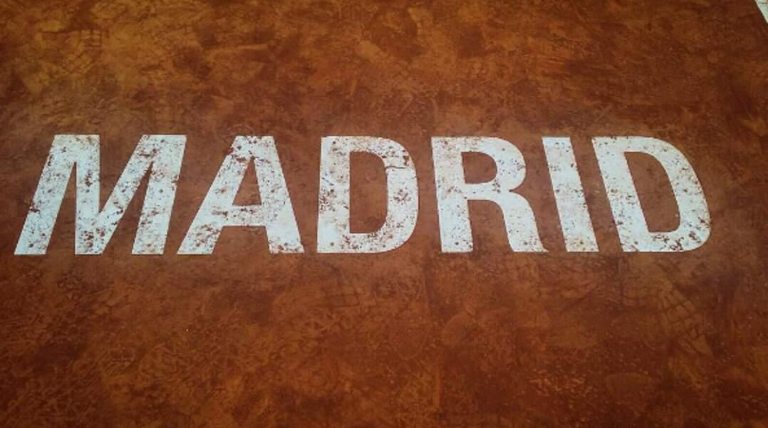 Novak se prépare pour le Masters de Madrid