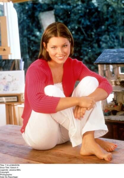 Après avoir posé nue en couverture d'un magazine, Jessica Biel a dû quitter 7 à la maison