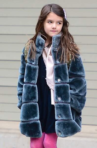 Suri Cruise, fille de Katie Holmes, née le 18 avril 2006