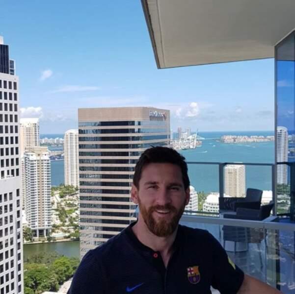 Lionel Messi a prouvé qu'il faisait beau à Miami.