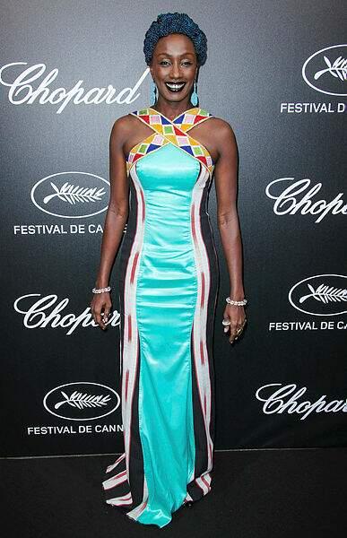 La membre du jury Maimouna N'Diaye