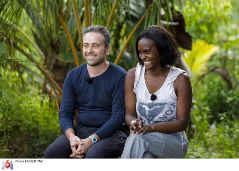 Martin (44 ans) et Laeticia (37 ans), le couple complice