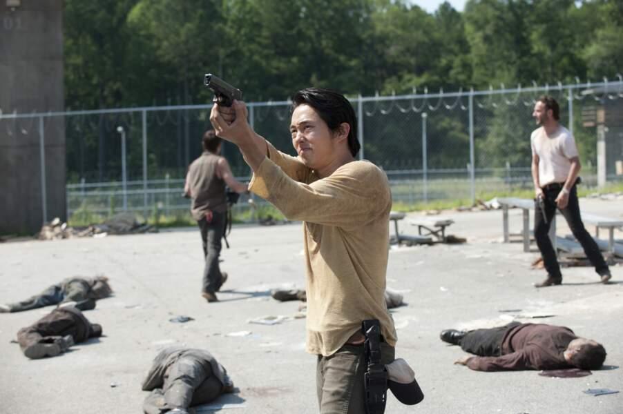 Qu'on se le dise : Steven Yeun n'est pas que Glenn dans Walking Dead