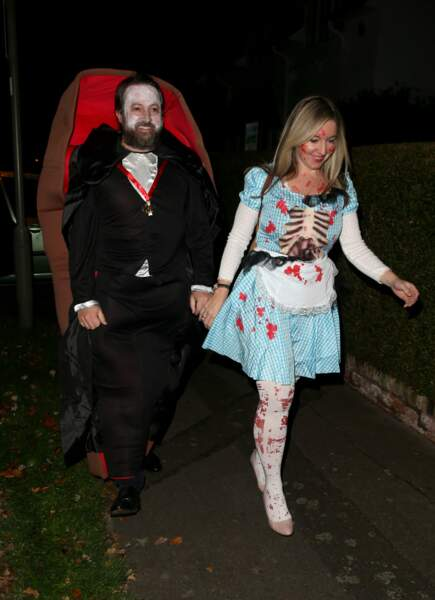 On a préféré les costumes de Victoria Coren Mitchell and David Mitchell