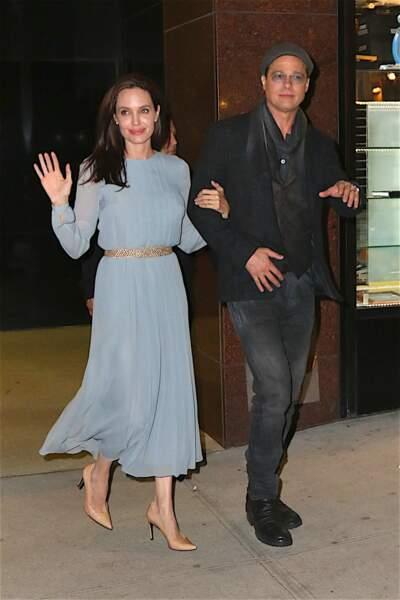 Angelina Jolie n'a plus que la peau sur les os à l'avant première de son film...