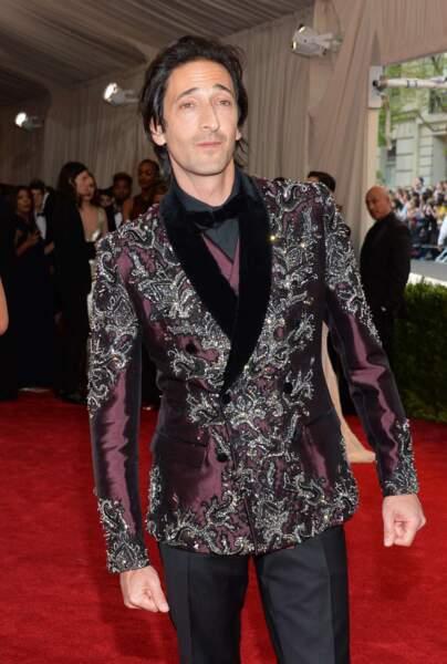 Vous êtes peut-être plus adepte de la veste d'Adrien Brody ?