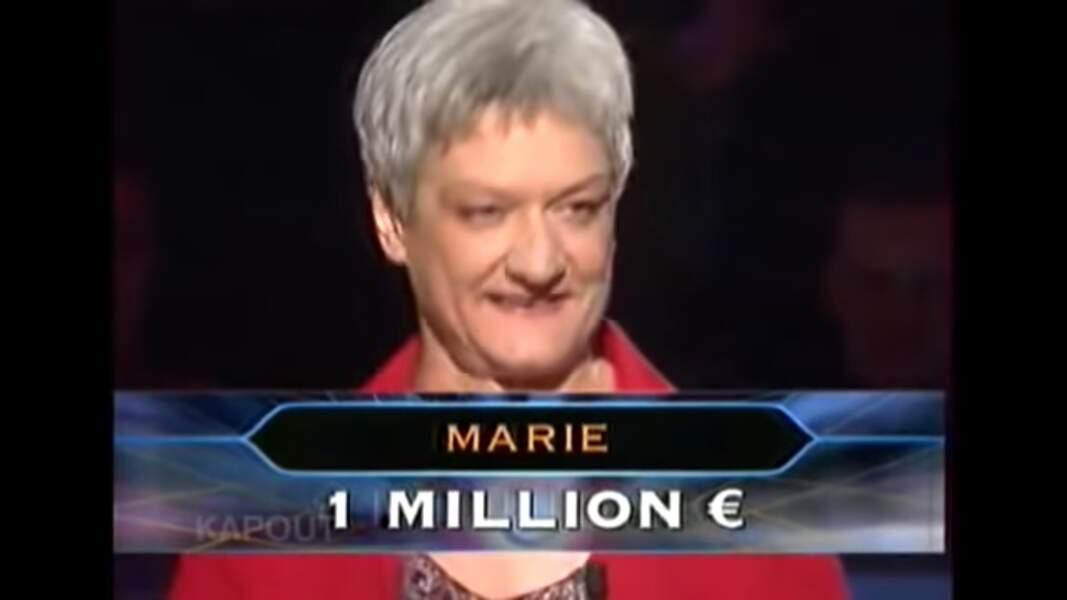 1. Marie, 1 000 000 €, Qui veut gagner des millions ?, TF1 (2004)