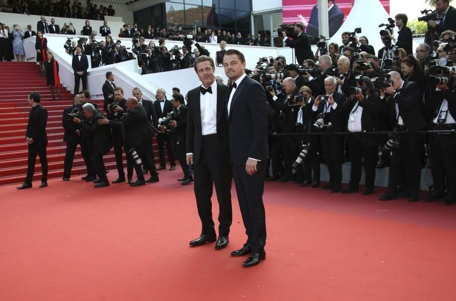 Les deux beaux gosses du festival : Brad et Leonardo!