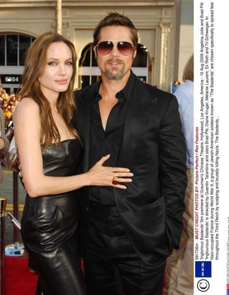 Une fois le divorce prononcé entre Brad et Jen, les Brangelina s'affichent plus radieux que jamais sur tapis rouge