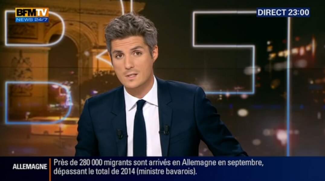 Les téléspectateurs de BFMTV peuvent retrouver Jean-Baptiste Boursier du lundi au jeudi à partir de 22 heures
