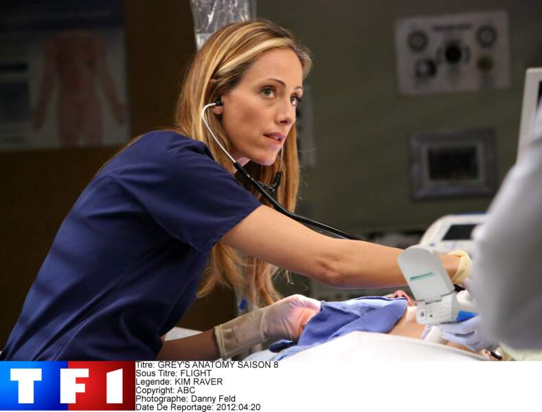 Dr. Teddy Altman (2009-2012) : Kim Raver quitte la série en saison 8, mais retrouve vite du travail