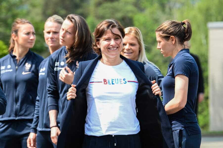 La ministre des Sports, Roxana Maracineanu, a elle aussi délivré un message... à sa façon
