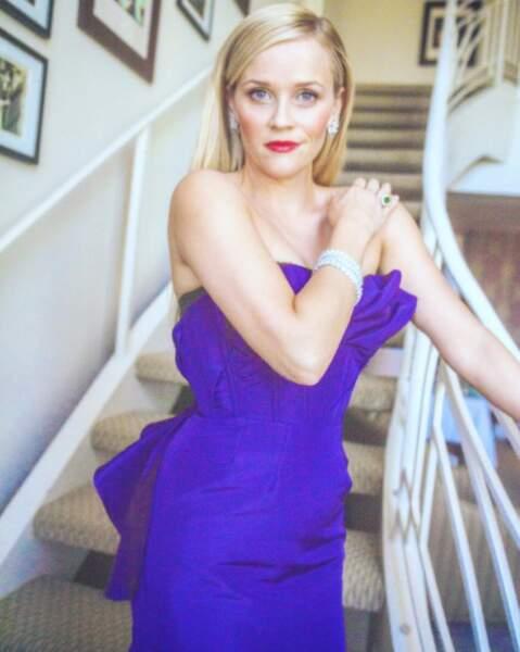 Maquillée, coiffée, habillée... Reese Witherspoon est CA-NON !