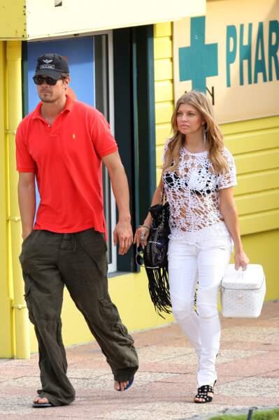 La chanteuse Fergie et son mari, l'acteur Josh Duhamel.