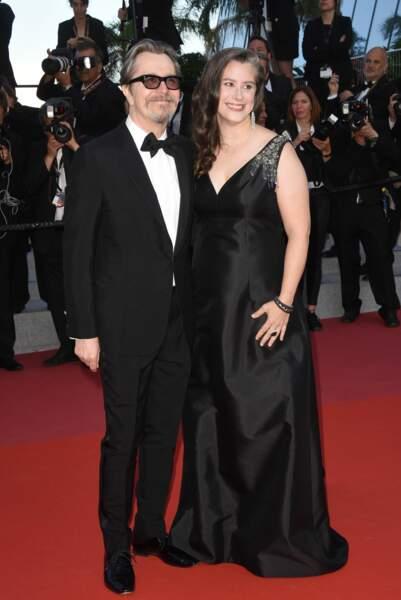 Gary Oldman et son épouse