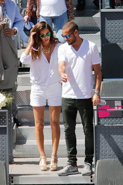 Premier heureux évènement pour le footballeur Mario Suarez et sa compagne Malena Costa.