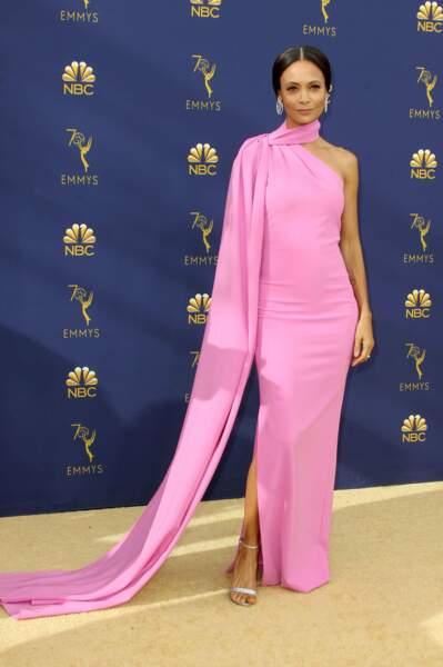 Thandie Newton fière d'avoir obtenu l'Emmy de la meilleure actrice dans un second rôle pour Westworld