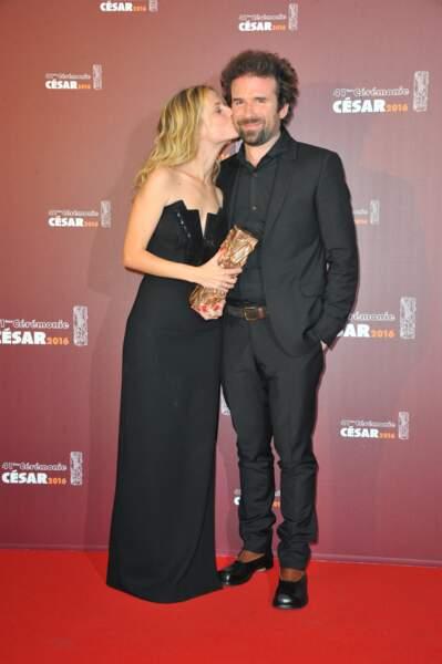 Mélanie Laurent, elle, a préféré embrasser Cyril Dion