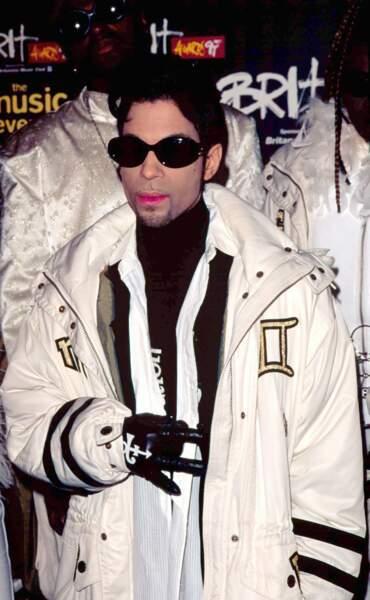 Lors des Brit Awards  de 1997