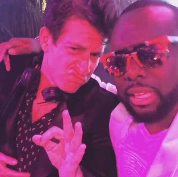 Maître Gims a fait un selfie avec le producteur musical, Mark Ronson