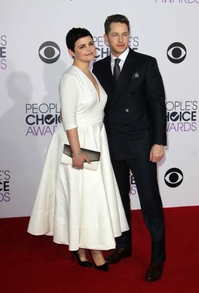 L'actrice Ginnifer Goodwin et son mari Josh Dallas attendent leur deuxième enfant.