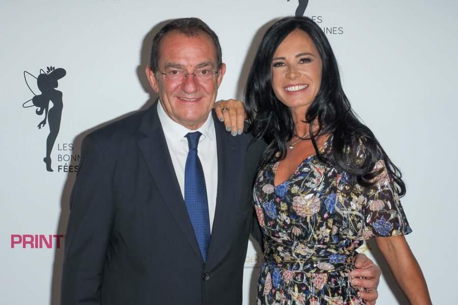 Nathalie Marquay et Jean-Pierre Pernaut se sont rencontrés en 2002 sur le plateau de Miss France (TF1)