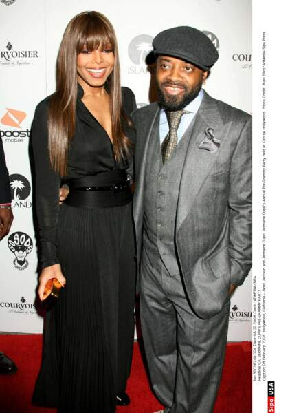 Janet Jackson et Jermaine Dupuis, c'était l'amour fou !