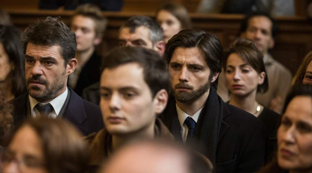 Aux côtés de Raphaël Personnaz, il joue un flic du 36 dans L'affaire SK1 (2015) sur le tueur en série Guy Georges.