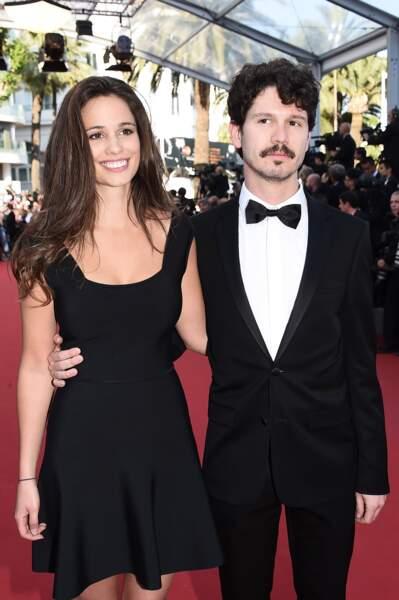 L'actrice avait choisi pour l'occasion une robe noire plus discrète !