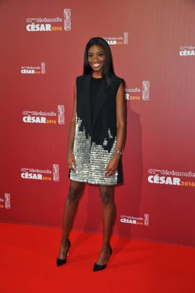 La jeune actrice Karidja Toure