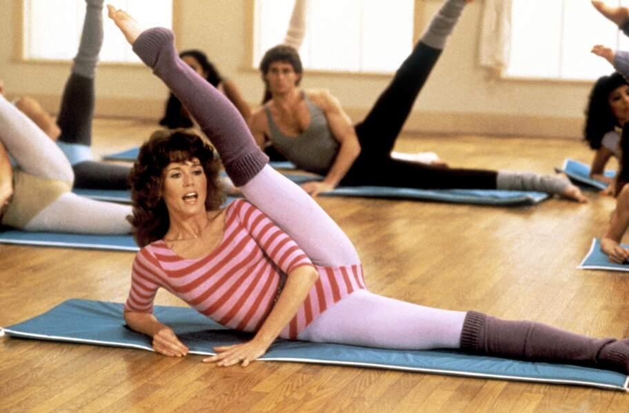 Début 1980, l'actrice publie Jane Fonda's Workout, la première d'une série de 23 vidéos d'exercices sportifs