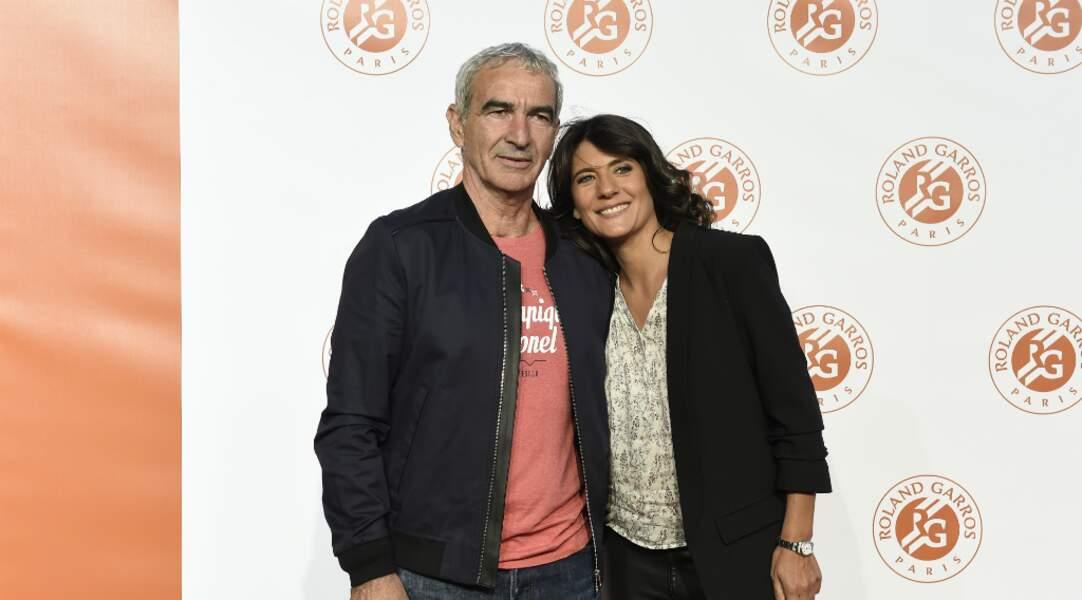 Un couple en goguette : Raymond Domenech et Estelle Denis