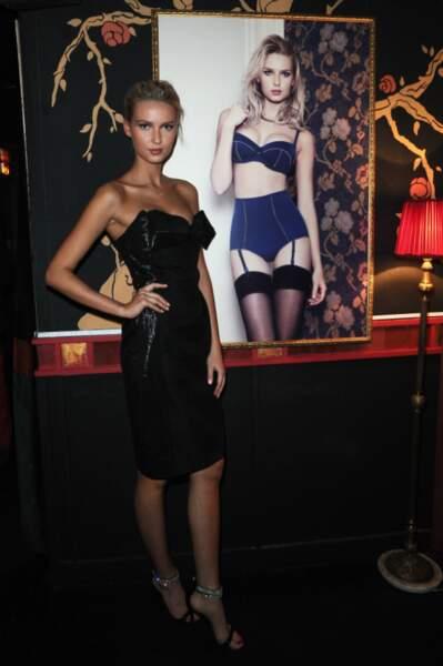 Adriana Cernanova lors de la soirée anniversaire des 20 ans de Wonderbra