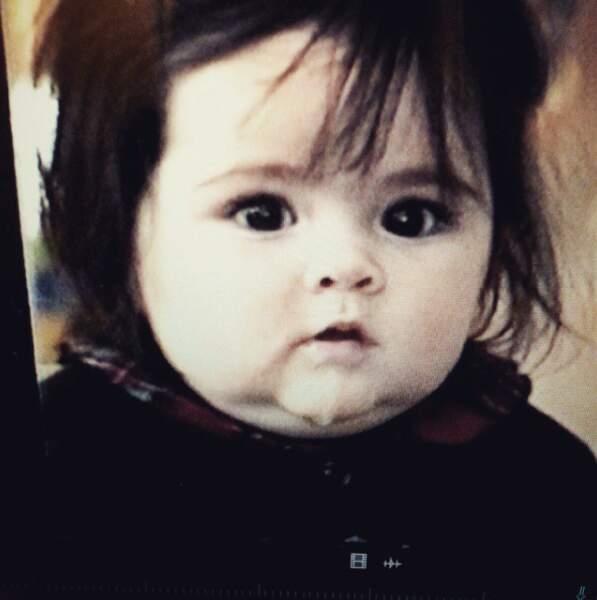 Fini, le bébé joufflu : elle a eu 19 ans en février.
