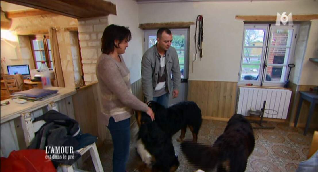 Jérôme découvre les chiens de Chrystèle !