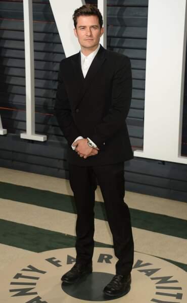 Orlando Bloom très chic ce soir