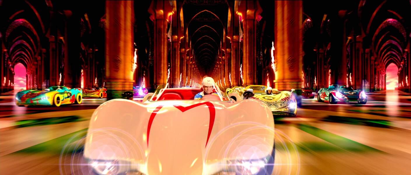 Emile Hirsh, as du volant dans Speed Racer
