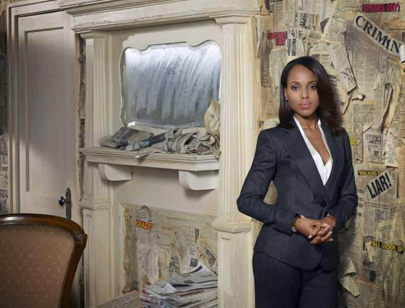 9 - Kerry Washington (Scandal) : 150 000 dollars par épisode