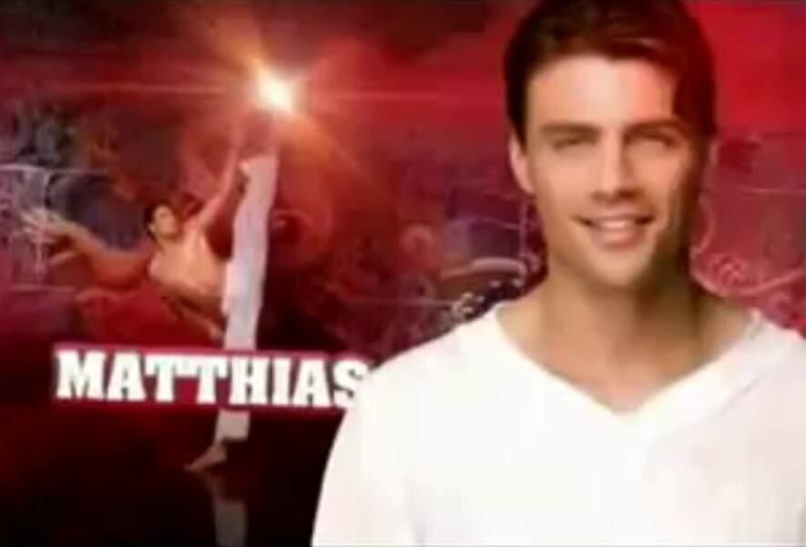 """Matthias (Saison 2). Son secret : """"Nous sommes un faux couple"""" (avec Alice)"""
