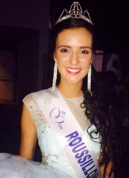 Voici Anaïs Marin, Miss Roussillon 2015