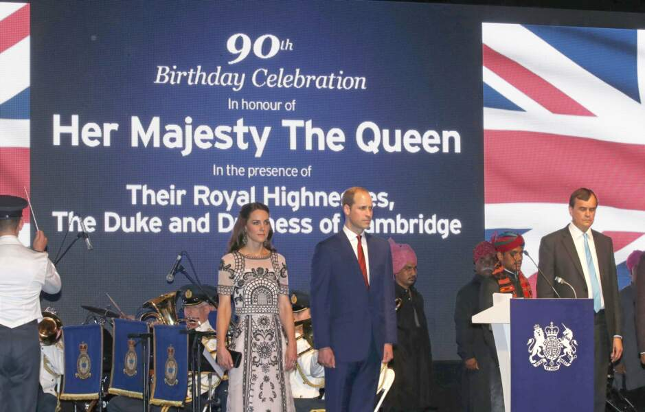 Une nouvelle journée intense qui se termine avec une soirée dédiée aux 90 ans de la reine Elisabeth II