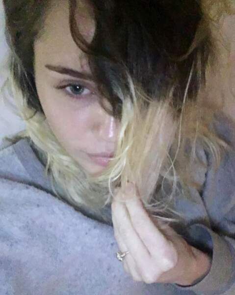 Avec nos racines apparentes façon Miley Cyrus.
