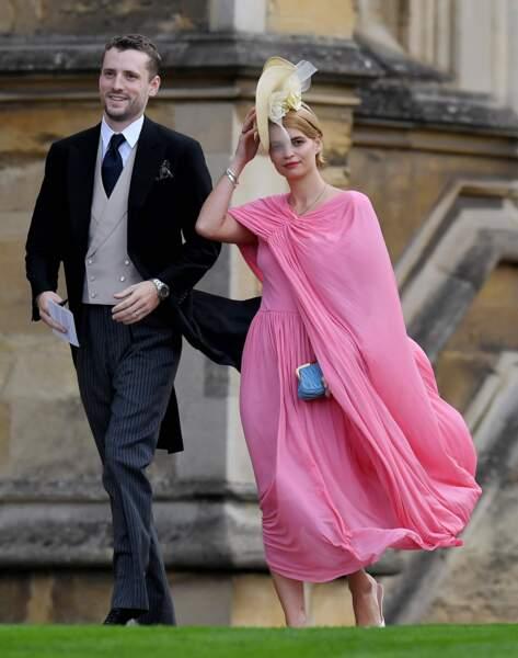 La chanteuse et mannequin Pixie Geldof et le chanteur George Barnett