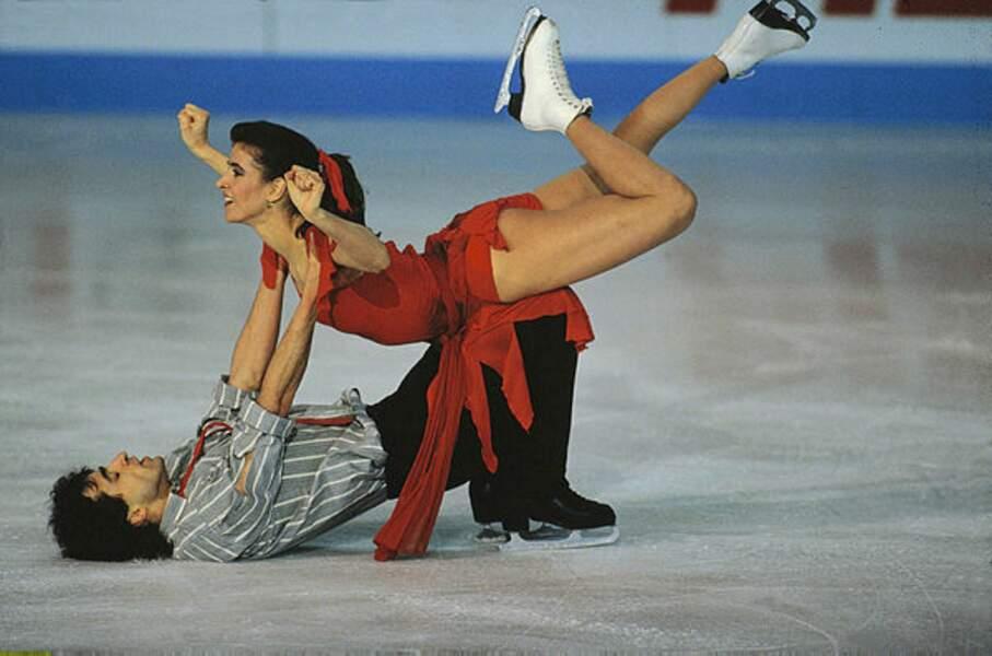 Inséparable de son frère Paul, Isabelle Duchesnay a ouvert la voie dorée et mondiale en danse sur glace en 1991