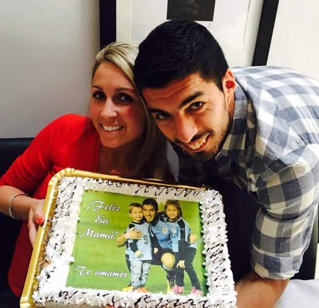 Autre anniversaire, celui de madame Suarez. Et monsieur a pu fêter ça avec une victoire du Barça