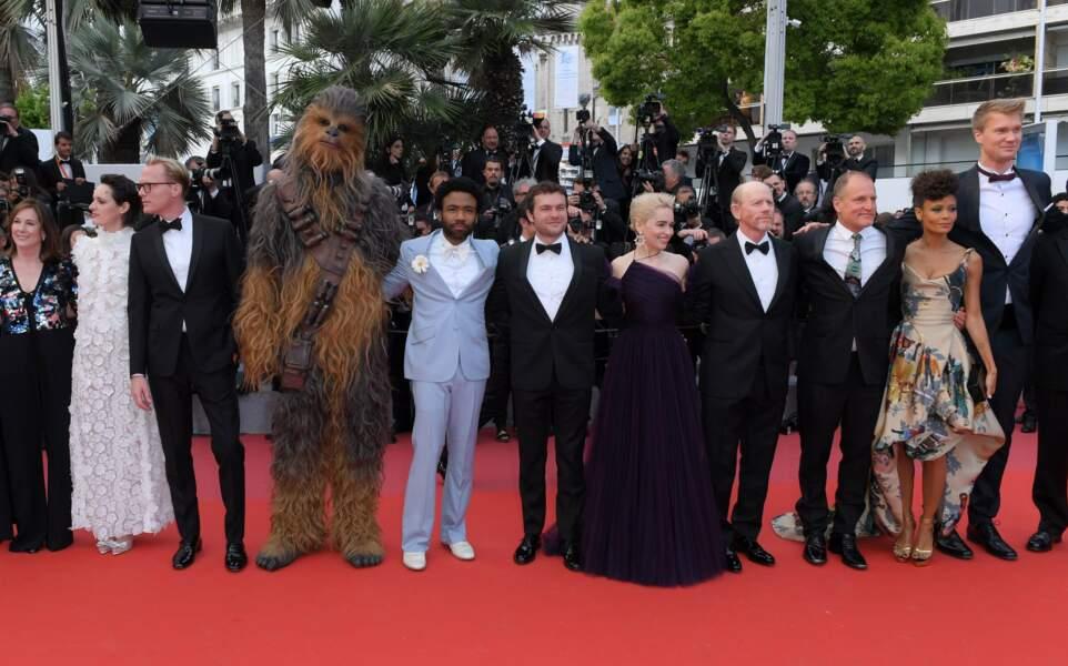 Cast de Solo : A Star Wars Story