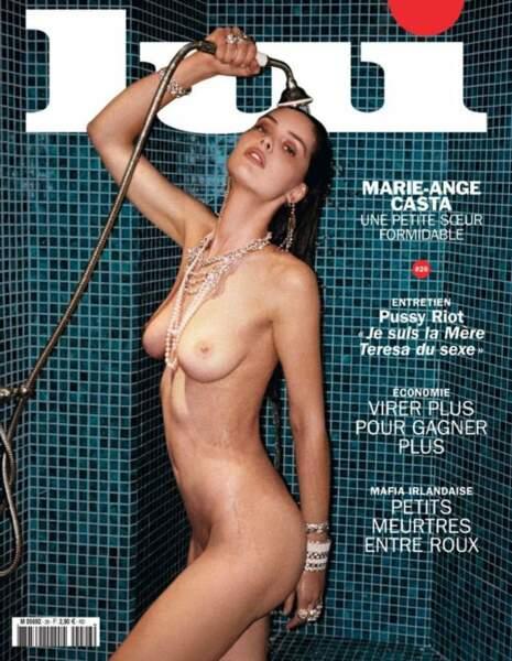 En mars dernier, elle faisait la couverture du magazine Lui.