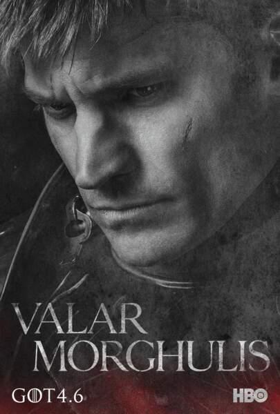 Nikolaj Coster-Waldau incarne Jaime Lannister, alias Le Régicide, frère de Tyrion