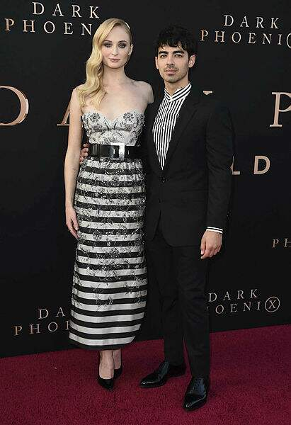 Sophie Turner et son époux Joe Jonas