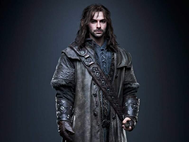 Aidan Turner alias Kili dans Le Hobbit : La désolation de Smaug